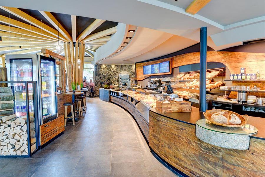 Raumgestaltung Bäckerei