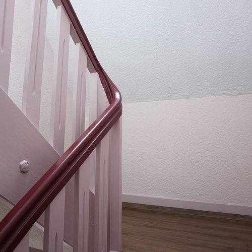 Treppenhaus neu gestrichen