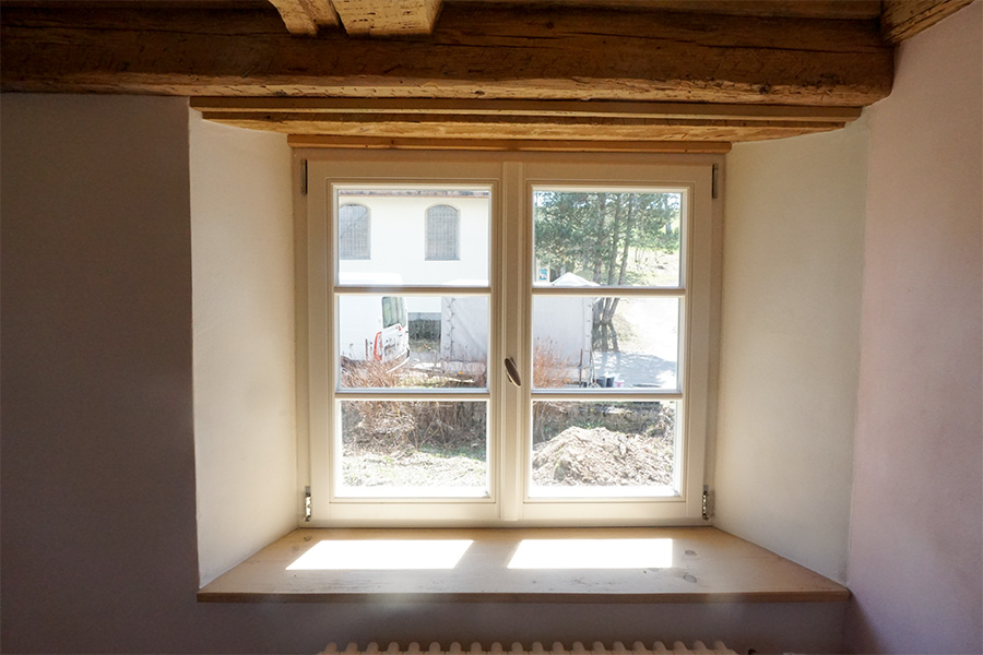 Raumgestaltung Fenster
