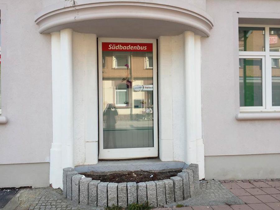 Bahnhofstrasse vorher